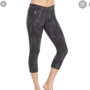 Smartwool PhD Printed Capri Cropped Leggings